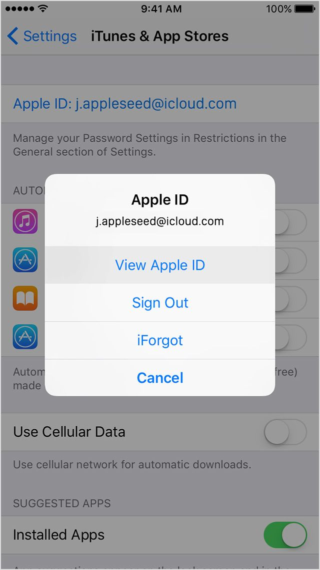 If you your Apple ID Apple support, Apple