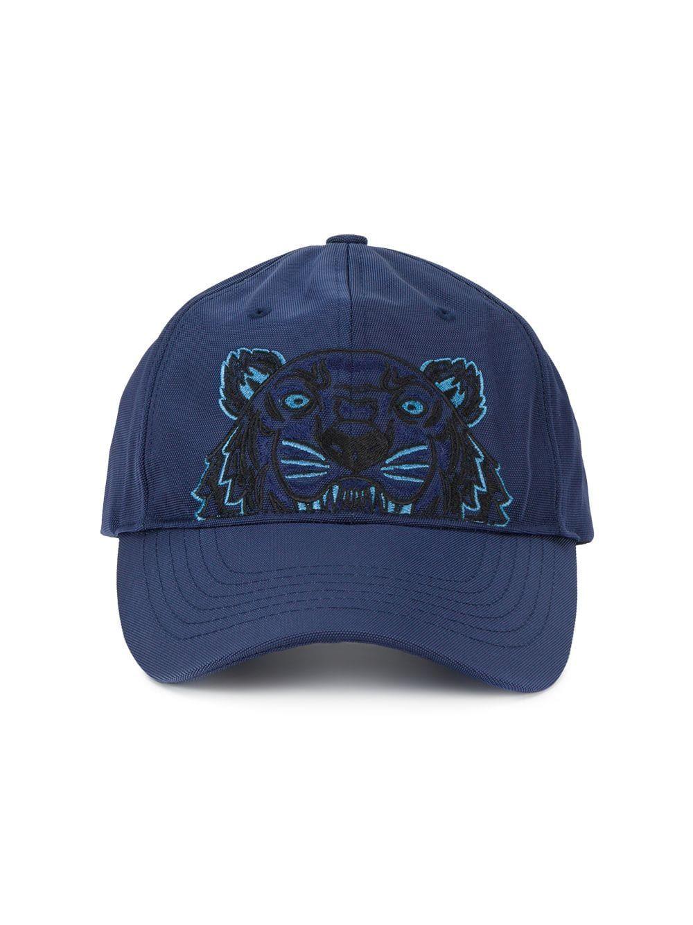e8824f3ef42cc Kenzo Tiger Canvas Cap - Farfetch Canvas Hat, Embroidered Caps, Baseball  Hats, Mens