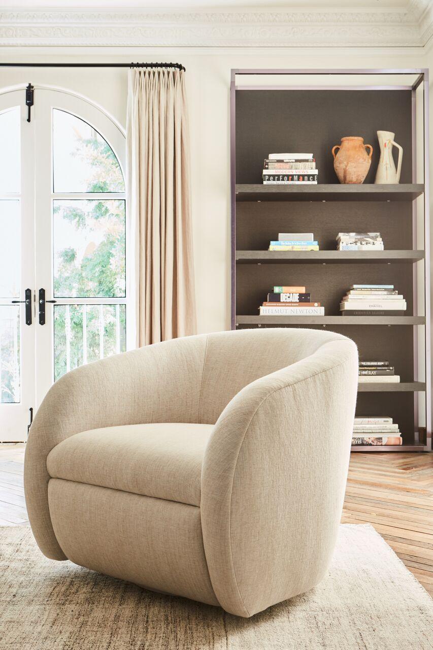 SWIVEL CHAIR — Disc Interiors | House: Living Room | Pinterest ...