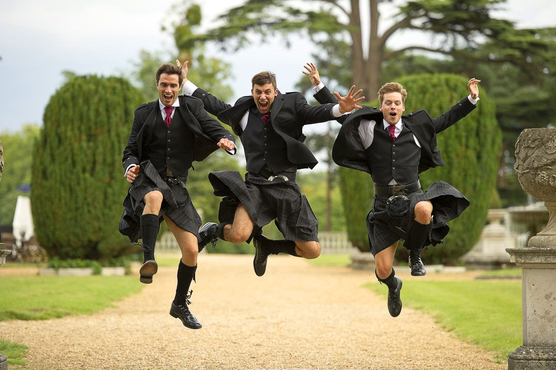 clearly men in kilts have more fun menswear from cameron ross