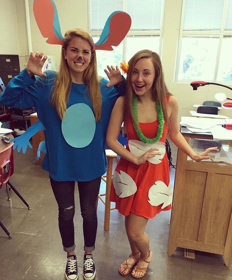 Lilo And Stitch Halloween Costume Stitch Halloween Costume Halloween Costumes Friends Bff Halloween Costumes