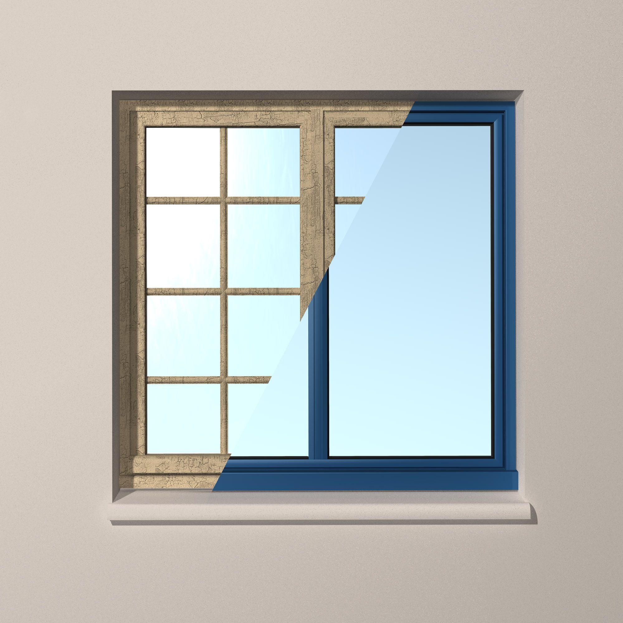 Image Avant Apres Une Renovation Avec Une Fenetre Aluminium Avec L Alu C Est Plus De Clair De Vitrage Www Fenetrea Iphone Wallpaper Windows Wallpaper