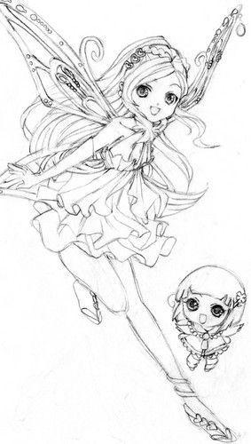 Coloriage Fee Winx Imprimer.Winx Image Coloriage Manga Coloriage Fee Et Dessin