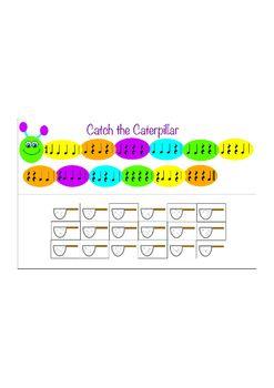 Catch the Caterpillar - Rhythm Game - Quarter Notes and Quarter