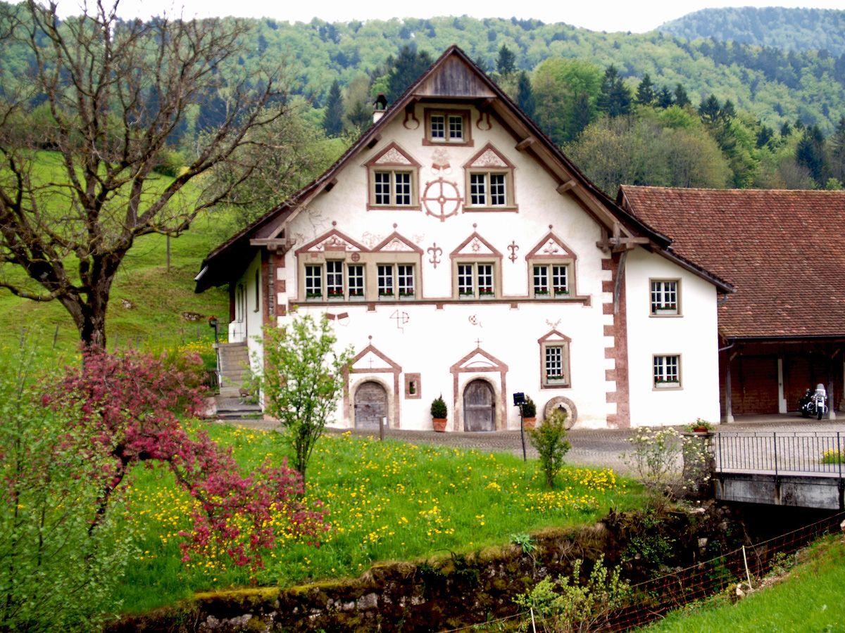 Mühle in Mümliswil, Schweiz, ©werner hense