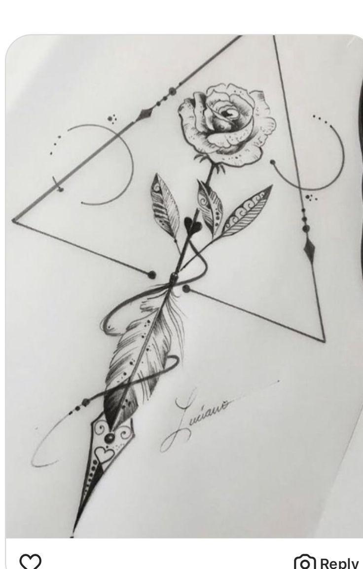 Wie zeichnet man einen Gartenplan – Nell Oa. #tattoosandbodyart # body art – …