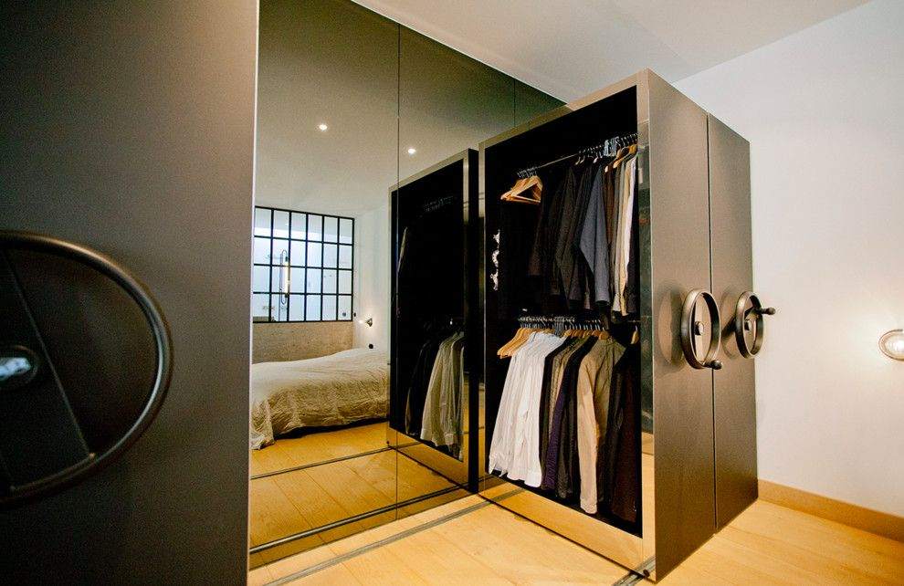 Schlafzimmer Schrank Im Industrial Schlafzimmer Mit - schränke für schlafzimmer