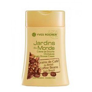Yves Rocher Jardins Du Monde Velvety Shower Cream Coffee Beans