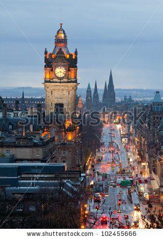 Edinburgh Scotland/Ireland