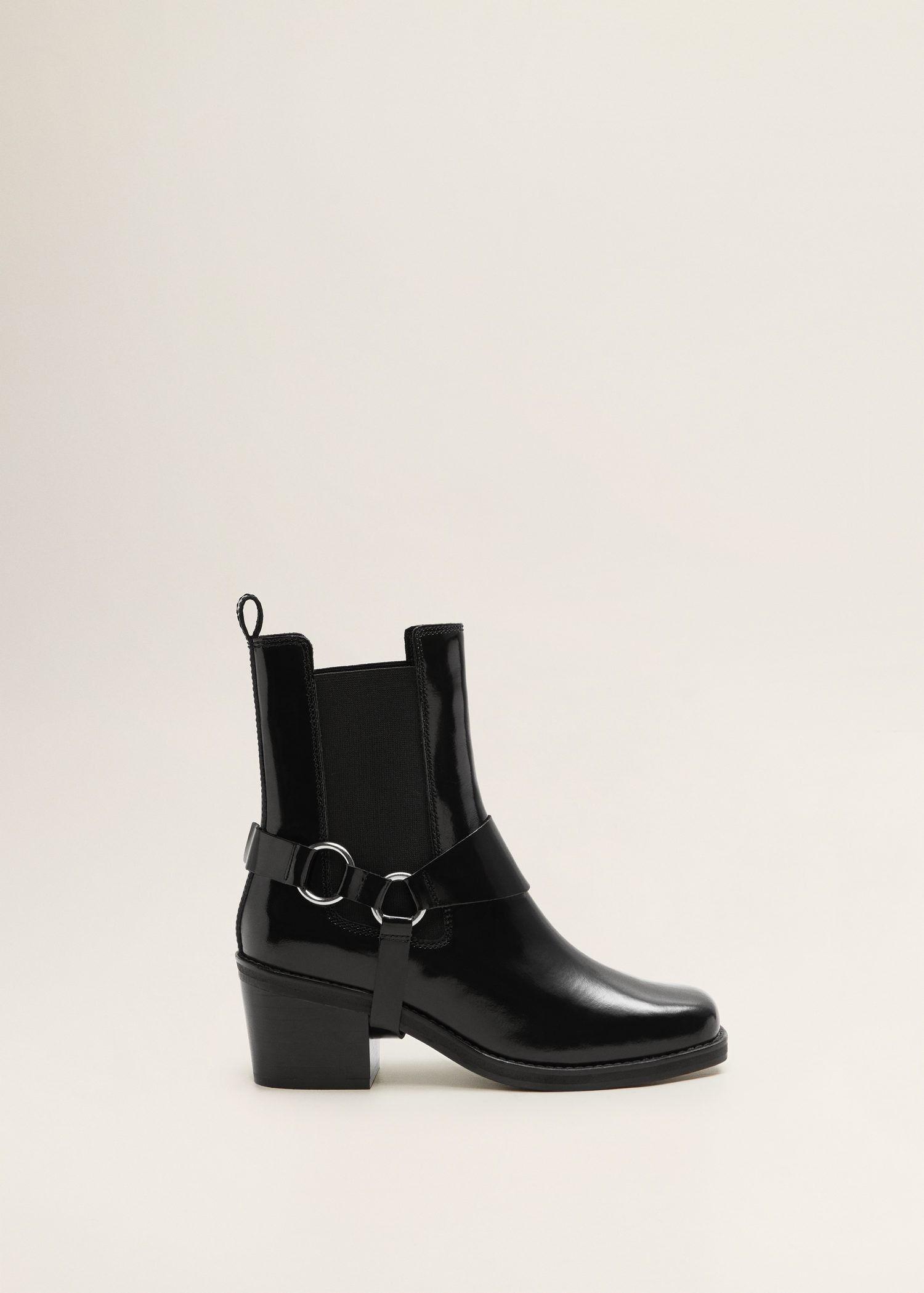 Skorzane Botki Z Klamerkami Kobieta Outlet Polska Boots Womens Boots Ankle Buckle Ankle Boots