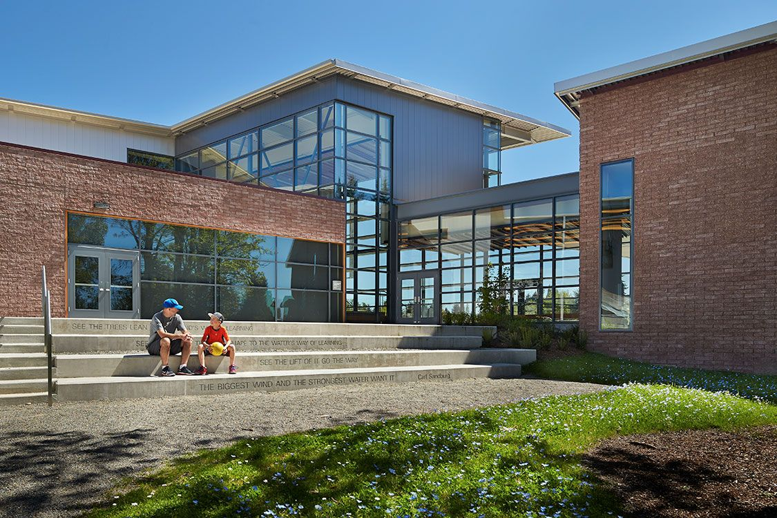 Delicieux Carl Sandburg Elementary School, Lake Washington School District   NAC  Architecture: Architects In Seattle