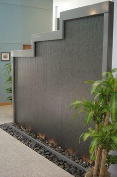 Idee Fontane Da Giardino A Muro Moderne.Galleria Foto Idee Parete Con Cascata D Acqua Foto 5 Cascata
