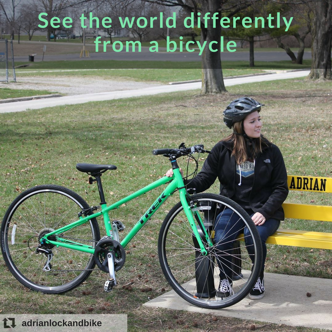 See The World Differently From A Bicycle Related Trek Fx 2