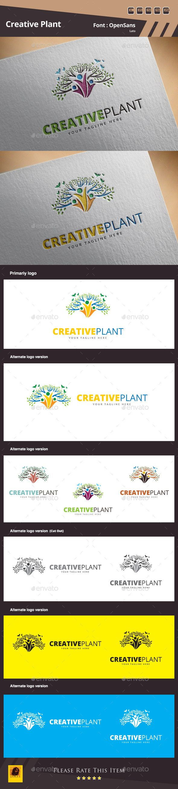 Creative Plant Logo Template