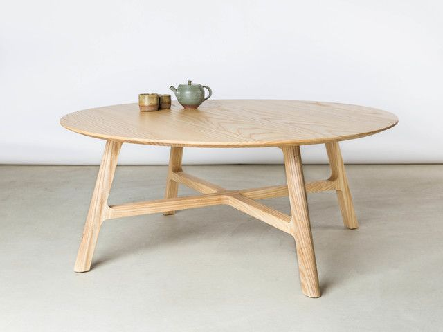 Crossover Coffee Table By Matt Pearson   Coffee, Table, Walnut, Solid, Ash