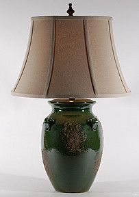 Green River Pottery Lamp By Natural Light. Ceramic Table Lamps. $275.00