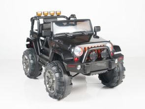 Magic Cars Real Rubber Tires Big Wheel Jeep Style Remote Control