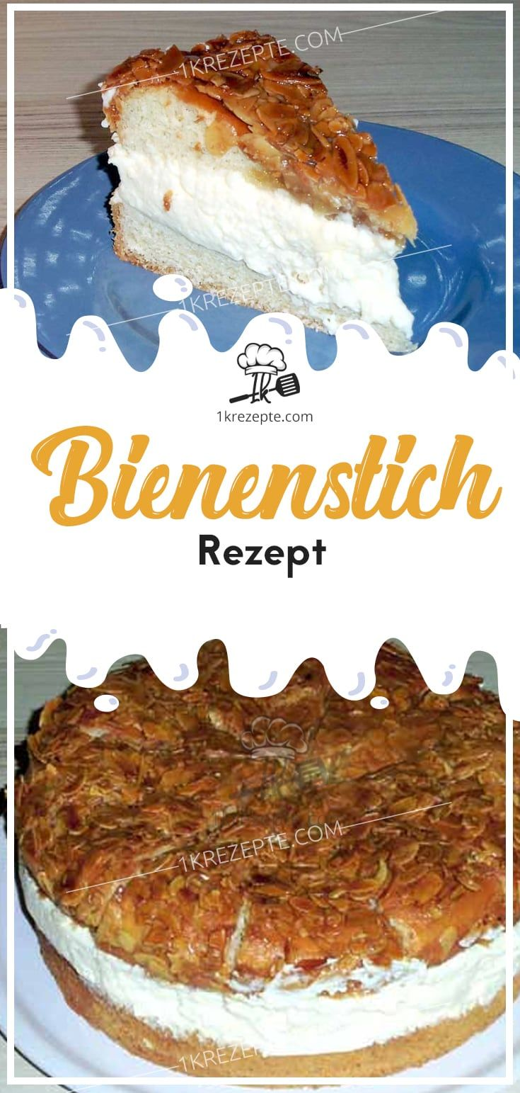 Bienenstich Rezept Cake Recipes Cooking And Baking Food