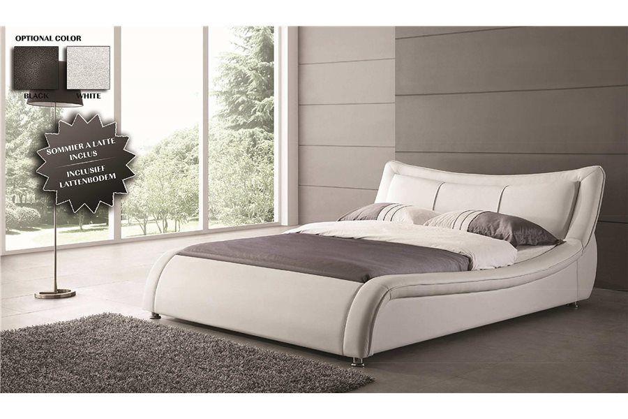 Lit Design Vendu Avec Un Sommier à Lattes | Bedrooms To Dream In... |  Pinterest | Bedrooms
