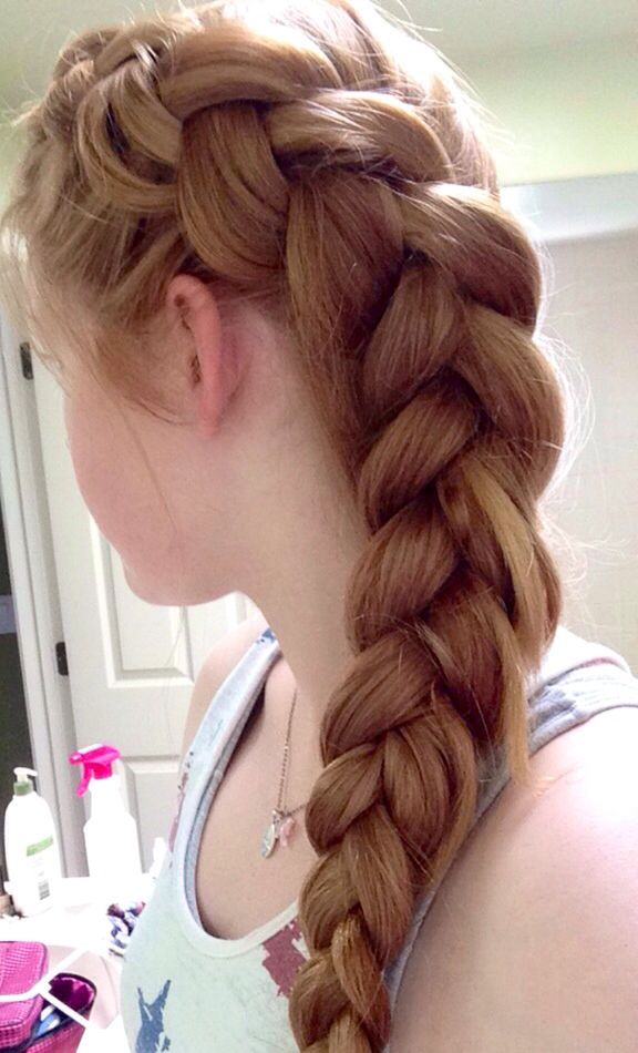 Fun and cute way to put your hair up when you don\'t want your hair ...