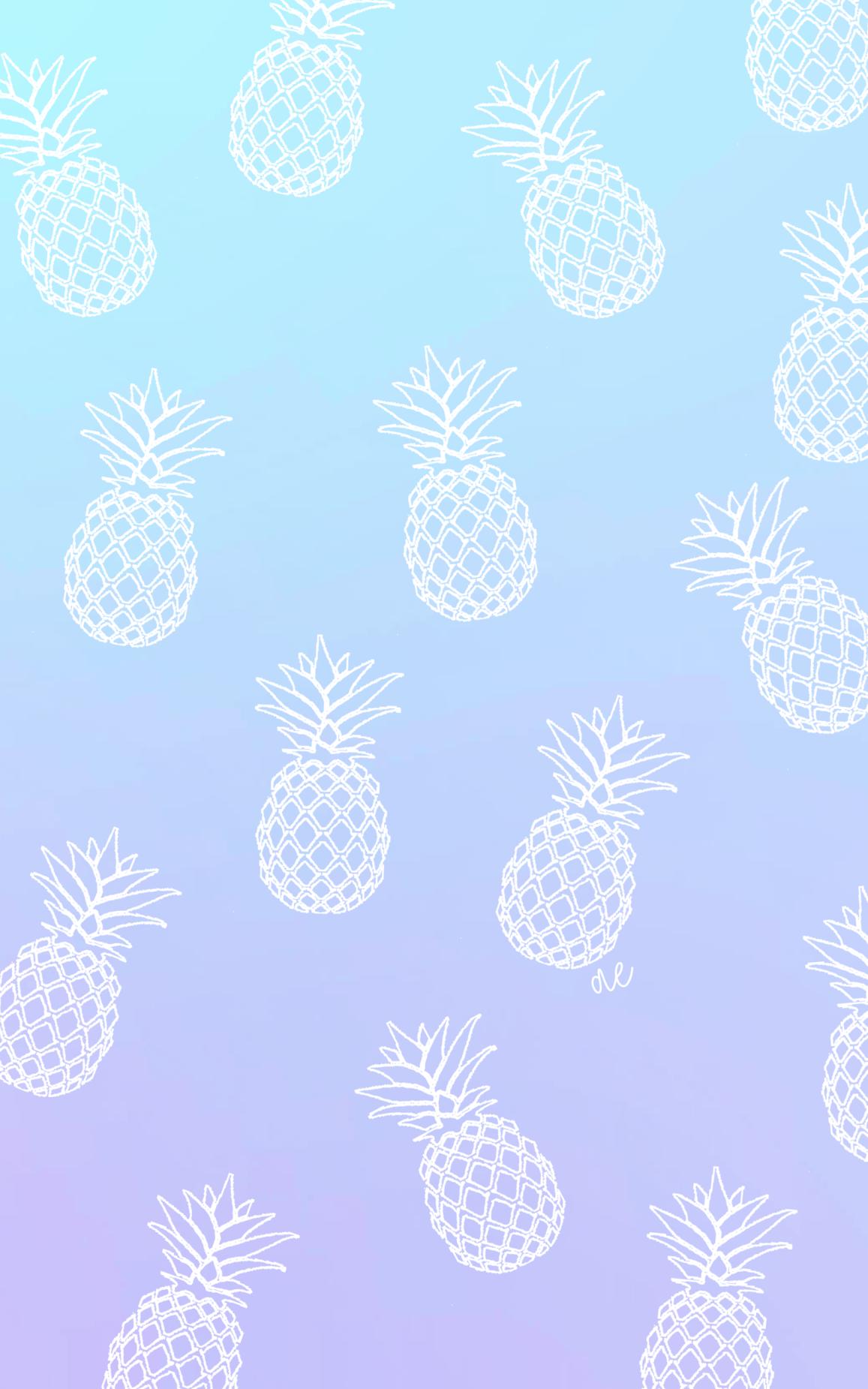 Pineapple Wallpaper Background Pineapple Wallpaper Color Wallpaper Iphone Cute Pineapple Wallpaper