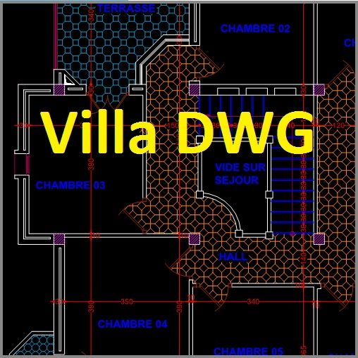 Plan Autocad du0027une banque dwg AutoCAD, Architecture and Cad drawing