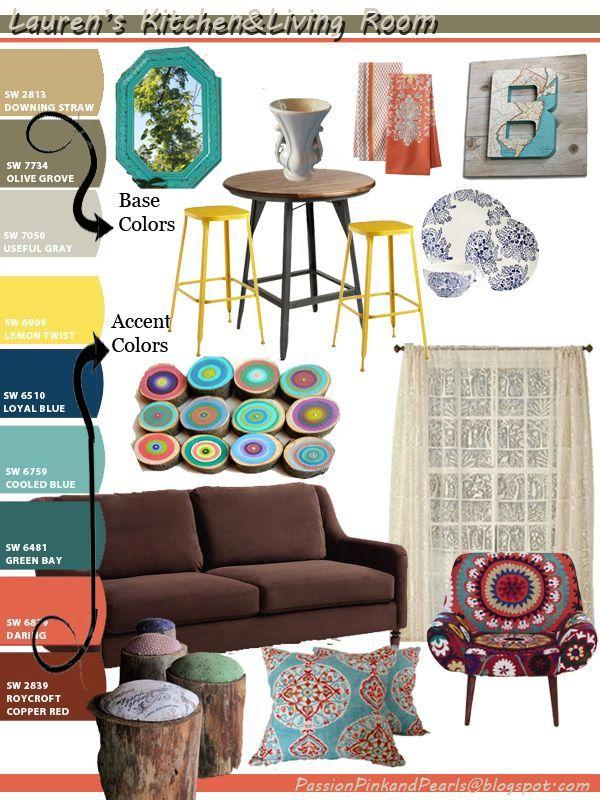 Lauren 39 S Earthy Boho Home Color Palette Blue Living Room Color Living Room Color Schemes Bohemian Bedroom Colors