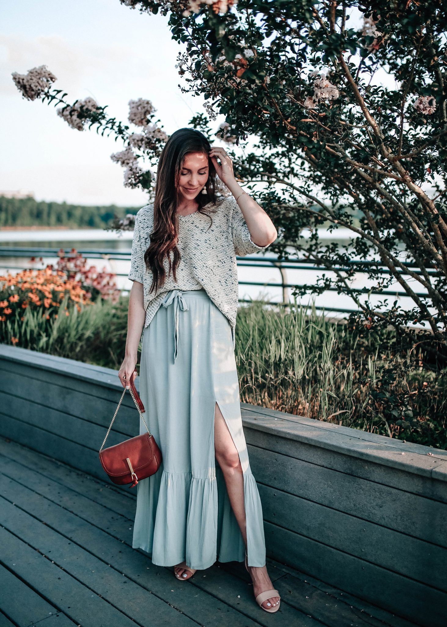What to wear with a skirt-sun 53