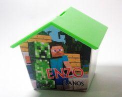 Casinha Cofre Minecraft