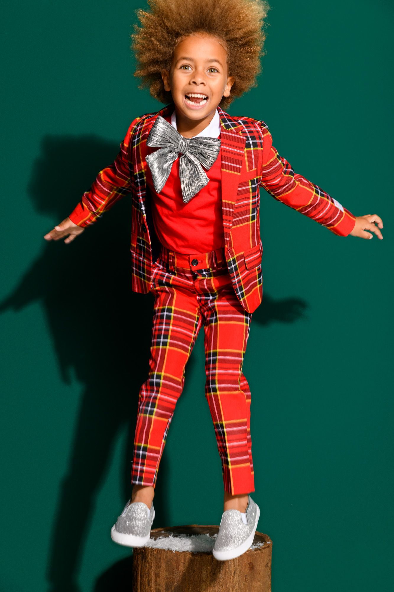 festive boys suits for the christmas season available in four styles