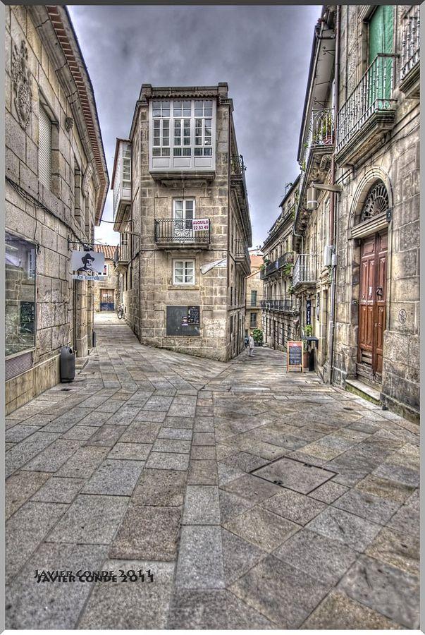 Casco Vello Vigo Pontevedra España Spain Paisajes De España Lugares De España Viajar Por España
