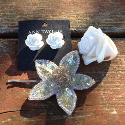 Flower Jewelry Bundle - $28