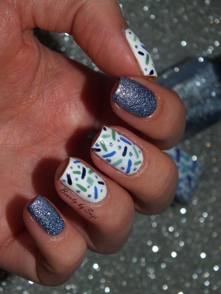 Collage: Lines & Dots #nails #nailart