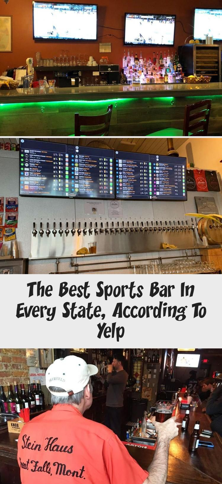 The Best Sports Bar In Every State, According To Yelp in