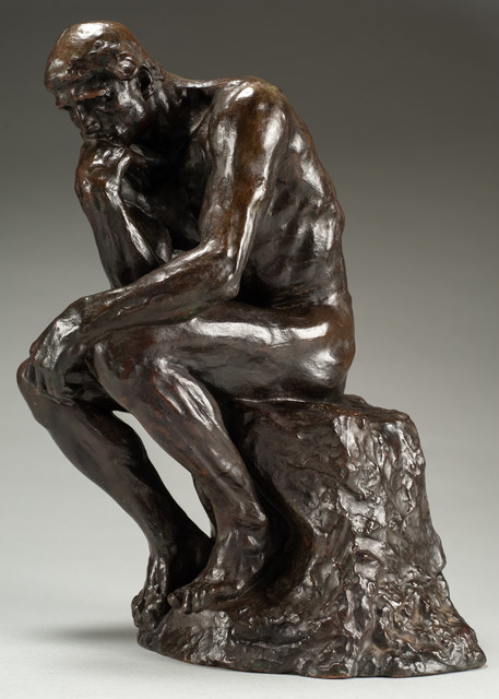 Auguste Rodin Le Penseur The Thinker Petit Modele Conceived In 1881 1882 Cast By Alexis Rudier Between 1920 1930 Available For Sale Artsy Rodin Rodin Sculpture Auguste Rodin