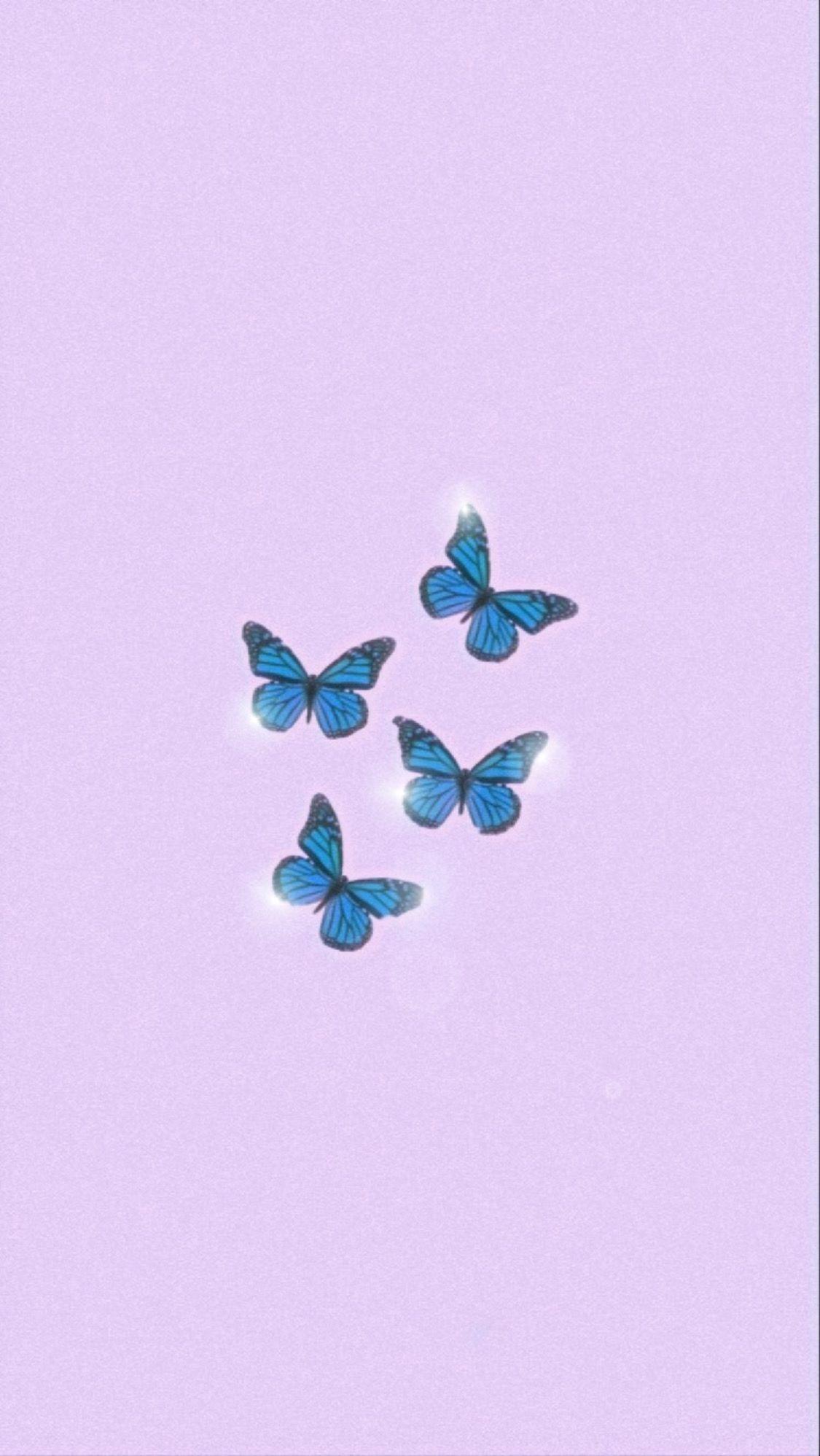 Butterflies In 2020 Bling Wallpaper Purple Butterfly Wallpaper Iphone Wallpaper Tumblr Aesthetic