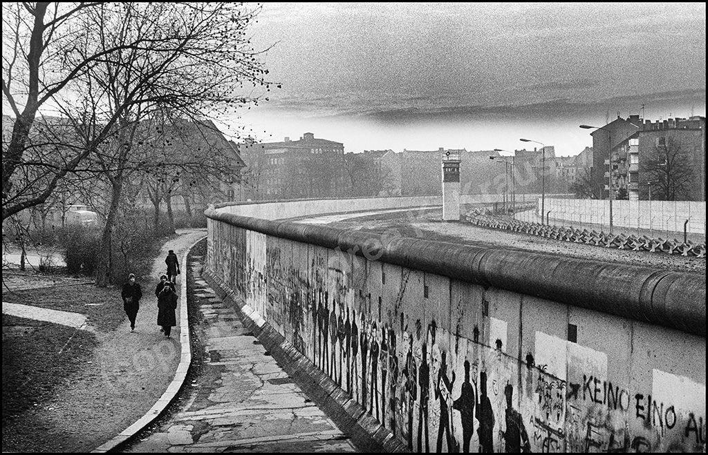 Berlin West, Berliner Mauer, Mauerstreifen