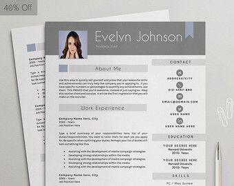 Professioneel #CV sjabloon | #CV + #sollicitatiebrief + verwijzing