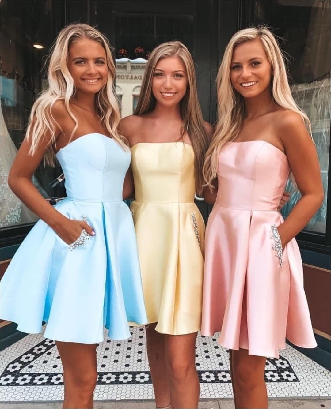 strapless short homecoming dresses, cheap homecoming dresses