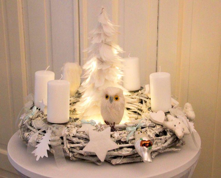 adventskranz zauberwald von cinnamonswirl auf dawanda. Black Bedroom Furniture Sets. Home Design Ideas