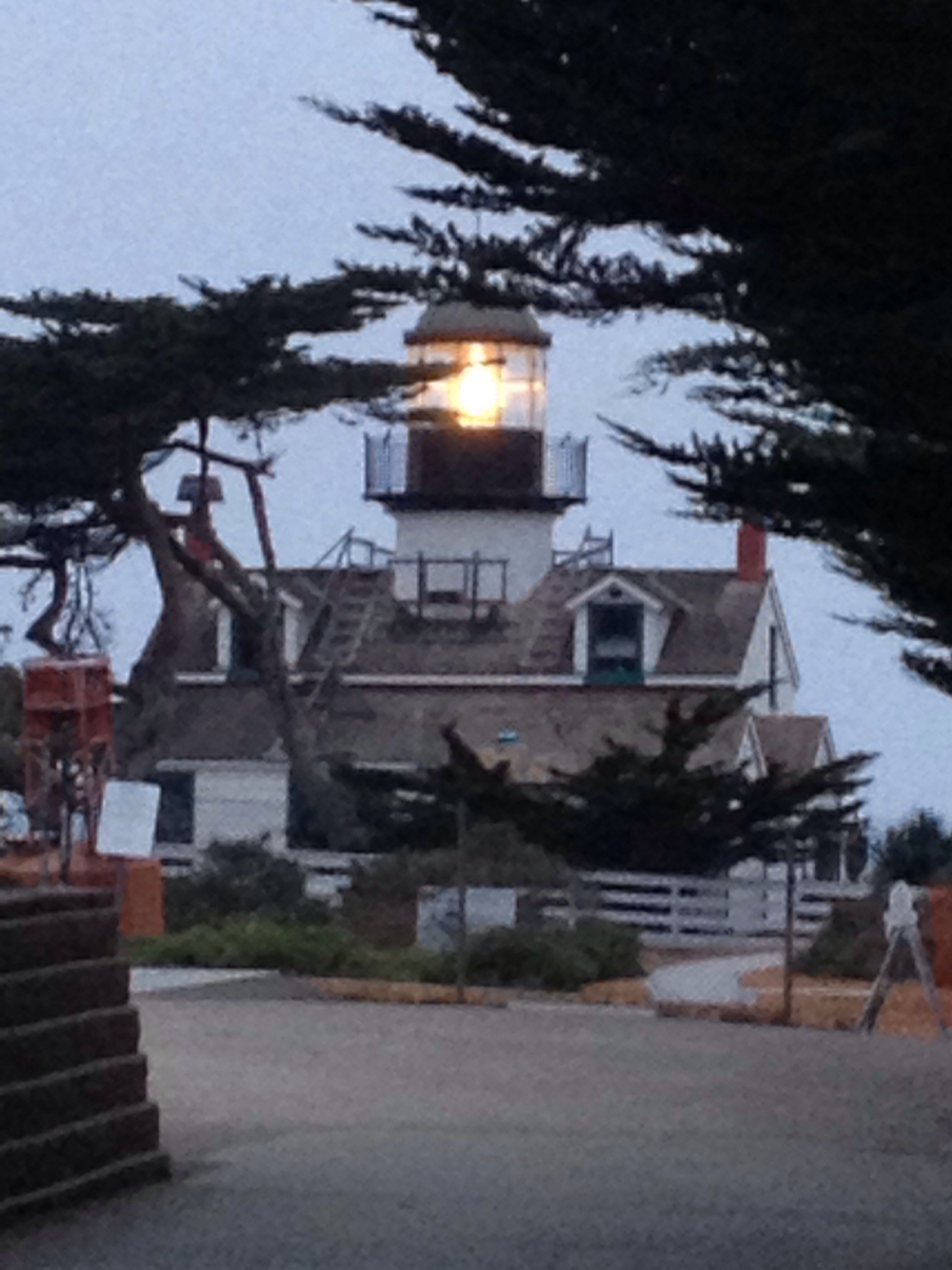 Point Pinos Lighthouse, Pacific Grove, CA Photo by Katharine Rich