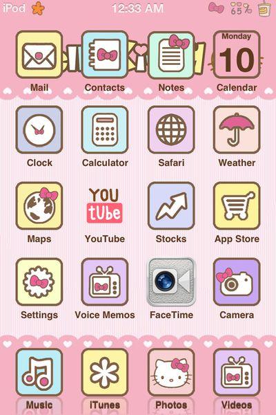 Cute ipod background
