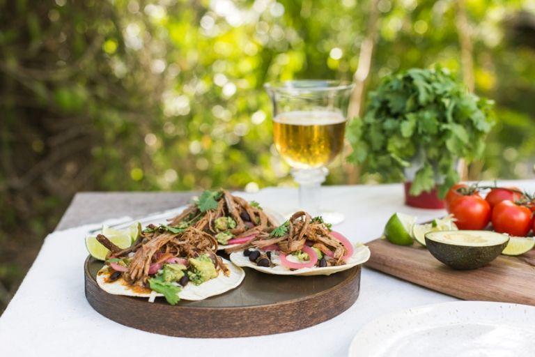 Slow Cooked Beef Brisket Tacos - Foolproof Living