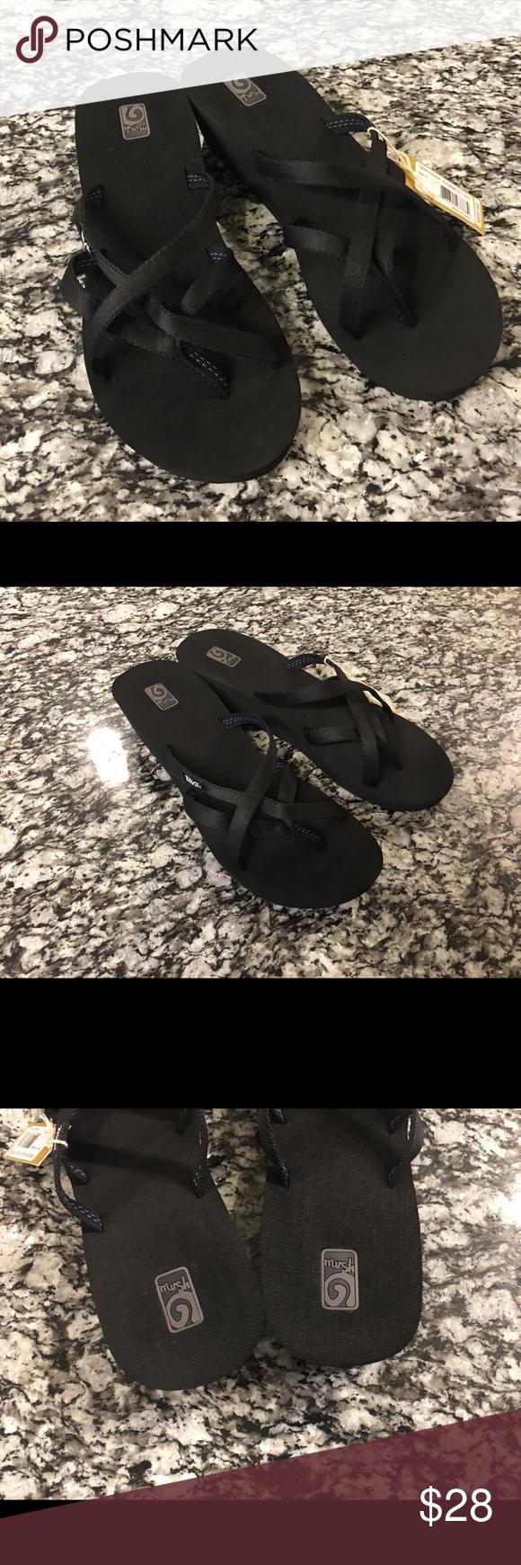 a62188ffa5aa26 Womens wedge teva black sandal sz  11 NWT Teva Mush Mandalyn Wedge Ola 2  Brand