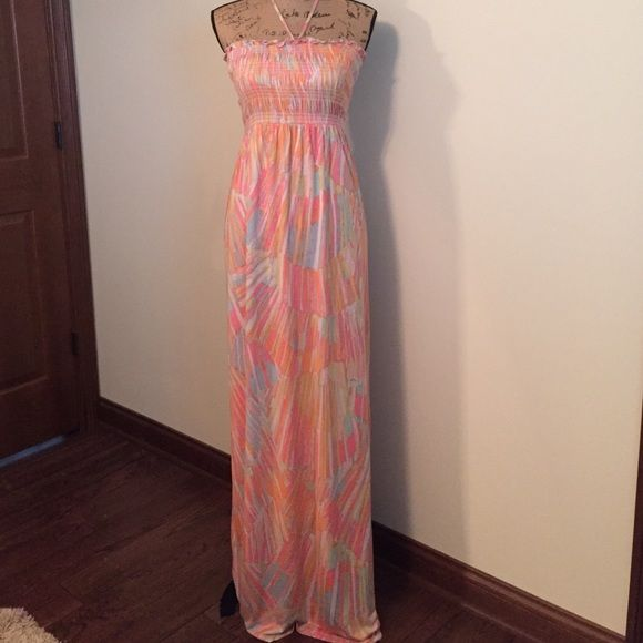 Juicy couture maxi dress Sun faded cantaloupe dress. Worn once. In ...