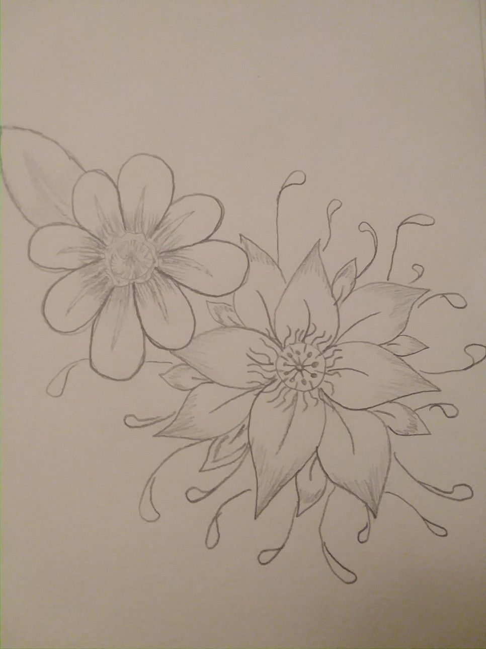 Pretty simple flower drawing drawing ideas pinterest simple pretty simple flower drawing mightylinksfo