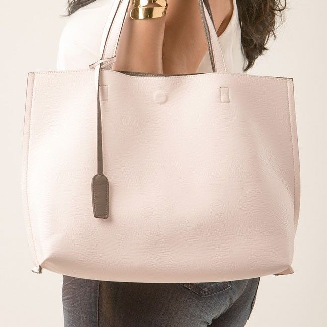 Reversible leather tote bags – New trendy bags models photo blog