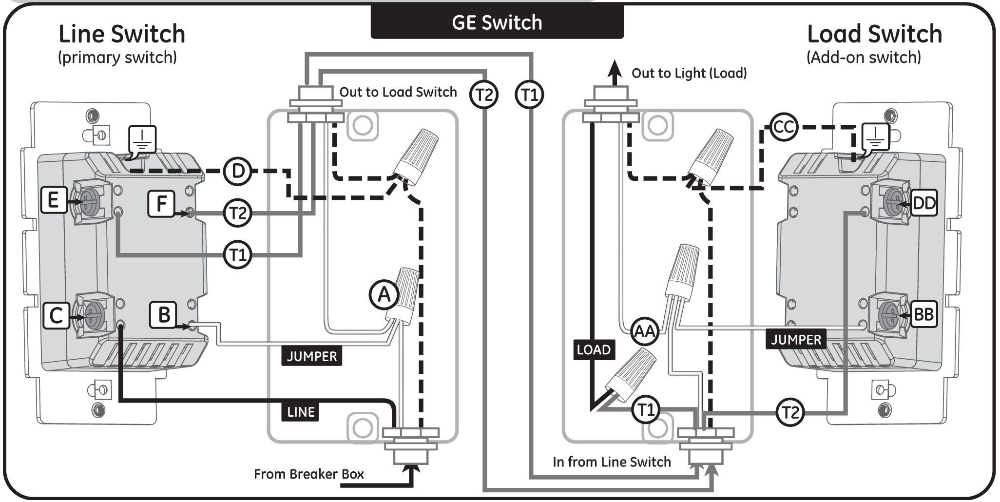 Wiring Diagram For 3 Way Switch With 4 Lights Light