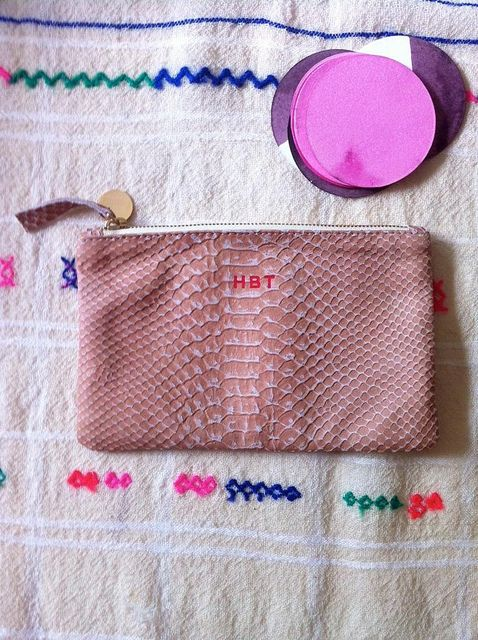 love this Claire Vivier wallet clutch - especially if it could be monogrammed **