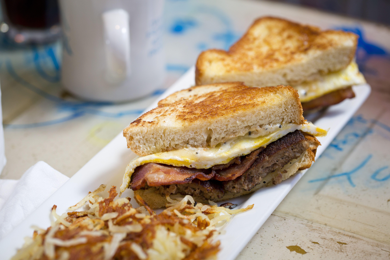 Breakfast Sandwich www.shackstl.com @TheShack_STL on Instagram